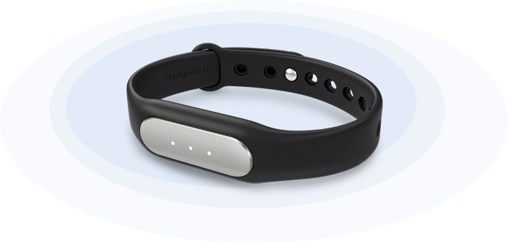 Mi Band wearable
