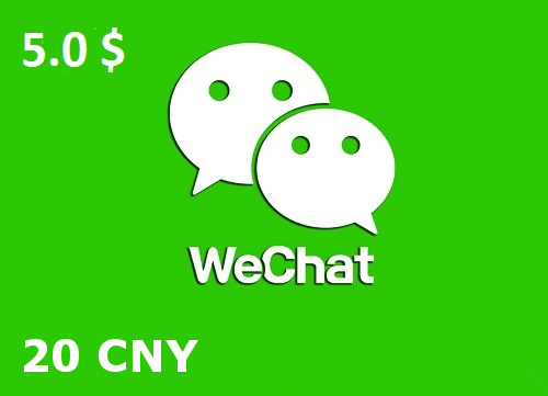 20 wechat credits red envelope